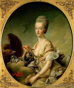 François-Robert Drouais - Marie Antoinette als Hebe