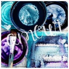 Go to colours when I just want to play... ColoursBySheri.com #danielsmithwatercolors #watercolorarts #whatsonyourpalette #granulatingwatercolours #studiolife #SheriTrepinaFineArt Give It To Me, Delicate, Neon Signs, Colours, Watercolor, Texture, Play, Abstract, Artist