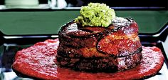 Sandra Lee Freaky Filet with Roasted Red Pepper Sauce- Freaky Filet with Dracula's Roasted Red Pepper Sauce