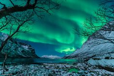 Photographer Harald Albrigtsen snapped this photo of the northern lights from Troms�, Norway, on Jan. 9, 2014.