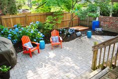 maybe a patio instea