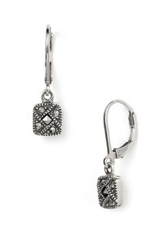 Judith Jack Square Drop Earrings available at #Nordstrom
