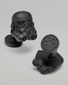 Stormtrooper Cuff Links by Star Wars at Neiman Marcus.