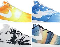 Nike Roshe Run Paradise Pack. How can you pick just one?!