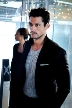 GORGEOUS David Gandy arrives at Matthew Williamson SS13 LFW  vanhenick:    In the honour of our universal love for Gandy, here is another photo for all of us to worship.  www.facebook.com/OfficialDavidGandy