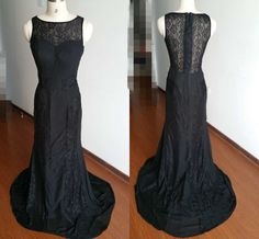 Black Prom Dresses-Lace Prom Dresses-Long Prom Dresses-Sexy Mermaid Prom Dresses 2015-Formal Dresses-Black Evening Gowns-Long Party Dresses by Angelonlinedress on Etsy