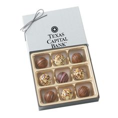 BT9 Custom Chocolate Filled Truffles Gift Box