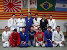 Grupo de clase de Jiu-Jitsu