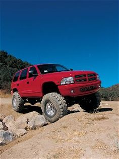 #Red 1999 Dodge Durango #Mopar