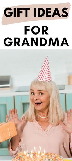 Find great gifts for Grandma! We have 25+ unique gifts for grandma that she will love.