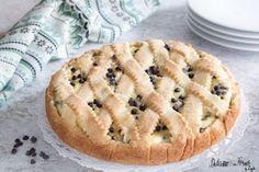 Crostata di ricotta con gocce di cioccolato, semplice e cremosa Apple Pie, Food And Drink, Favorite Recipes, Biscotti, Baking, Desserts, Google, Oven, Food Cakes