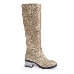 block heel glitter boots from chiko shoes