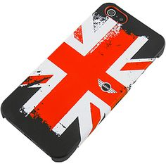 #MINI Series Hard Shell Case for #iPhone 5, Union Jack Red $17.99 From #DayDeal