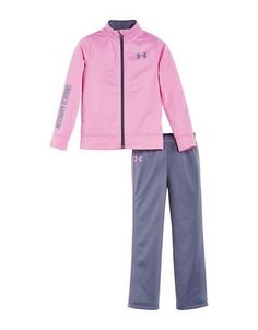 Under Armour Baby Girls Teamster Two-Piece Track Set  Verve Violet 24
