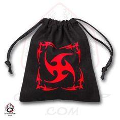 Dice Bag: Black Tribal
