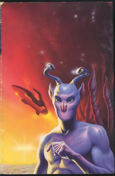 Elfangor from the animorphs axmilis brother trilogy andlite cronicals cover.