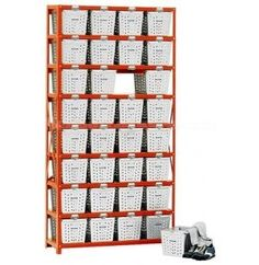 Basket Lockers for sale! This unit is 8 lockers high by 4 lockers wide, offering plenty of storage for tools, sports equipment, gardening supplies, cleaning supplies and other items that normally clutter up your garage. #basketlockers #garagestorage
