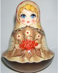 """Cranberries"" Roly Poly Doll"