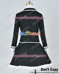 Diabolik Lovers Cosplay Yui Komori Uniforme Noir Costume Coton Version