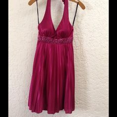 Burgundy party dress!! Discounted shipping 1 hr!!Burgundy party dress!! Perfect for a day or night party or wedding etc. Only used once Dresses
