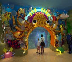 Undersea World Indoor Playground System   Cheer Amusement CH-TD20150112-6