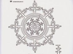 a beautiful snowflake, doiley, whatever you want it to be, just beautiful:)  ~  pp