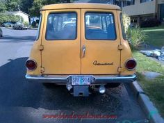 I'd like a chrome rear bumper for my yellow 61 travelall
