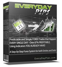 EverydayPips Forex –   Over 87% Winning Trades. A step by step Forex trading system for both entries and exits!