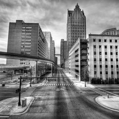 Deserted Detroit