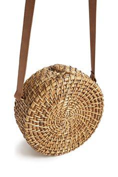 Woven Round Handbag (under $30)