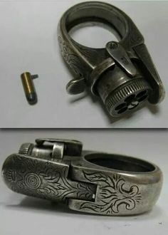 Smallest gun ever like a ring