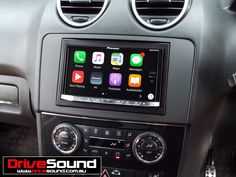 Mercedes Benz ML63 AMG with Apple CarPlay installed by DriveSound.