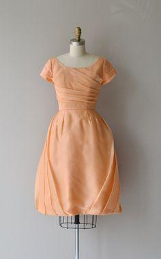 Whipped Taffy dress vintage 1960s dress chiffon by DearGolden