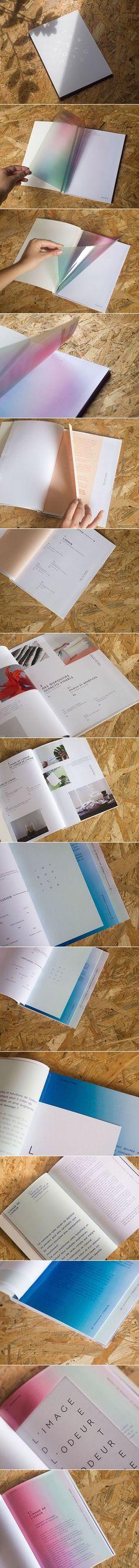 Design graphique hyperosmique on Behance. - a grouped images picture - Pin Them All Portfolio Design Layouts, Layout Design, Book Portfolio, Graphisches Design, Buch Design, Print Layout, Cover Design, Design Color, Logo Design