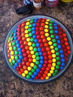 gummy bear and M&M cake - Google Search