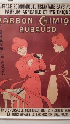 Veronica Martin Gallery: Charbon Chimique Rubado by Cappiello