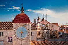 Croatia - Trogir: Tower Clock by John & Tina Reid, via Flickr
