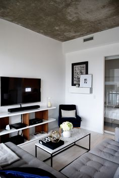 Not Your Standard Home With Kayla Seah West Elm Condo Living Room Small Apartment