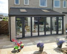 For lean-to conservatories in Barrow, Ulverston or Cumbria call Wardgroup on 01229 Buy a budget conservatory with customer service guaranteed. Orangerie Extension, Extension Veranda, Conservatory Extension, House Extension Plans, House Extension Design, Glass Extension, Extension Designs, Roof Extension, House Design