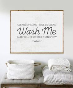 Laundry Print Bible Verse Print Laundry Room Decor Scripture Print Laundry Sign … - Home Cleaning DIY Laundry Room Signs, Laundry Room Art, Laundry Room Quotes, Farmhouse Laundry Room, Farmhouse Style, Farmhouse Decor, Cleanse Me, Clean Cleanse, Cheap Home Decor