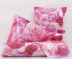 Parure copripiumino in percalle Tango rosa, matrimoniale