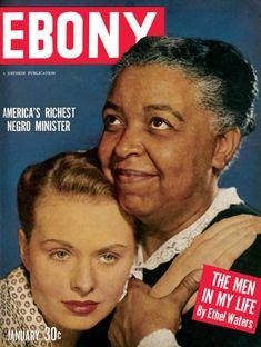 Jet Magazine, Black Magazine, Ebony Magazine Cover, Magazine Covers, Louie Bellson, Ethel Waters, Ebony Color, Coloured People, Richard Wright