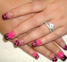 Designer nails, build and designed with Acrylic Designer Nails, How To Do Nails, Nail Designs, Beauty, Nail Desighns, Beleza, Nail Design, Cosmetology, Nail Art Ideas