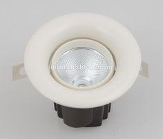 CE ROHS SAA adjustable cob led downlight IP54 3'' 12w recessed led down lights warm white anti-glare cob ceiling light