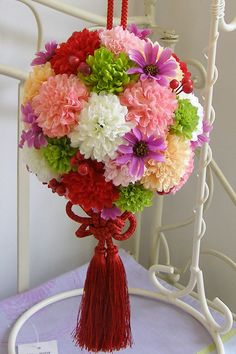 和装 ブーケ | 大阪心斎橋 プリザーブドフラワー アンジェ・パリ Floral Bouquets, Wedding Bouquets, Wedding Flowers, Floral Wreath, Flower Decorations, Table Decorations, Japanese Wedding, Flower Ball, Wedding Ceremony