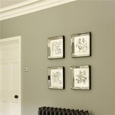 Bedroom in Pigeon & White Tie