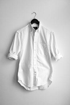 the classic white shirt!