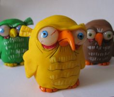LittLe yellow OwL looking for some fresh eyes to peck out, or a worm  by  Nicole Johnson