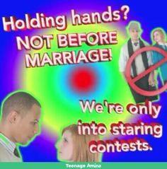 Pre martial hand holding is a sin