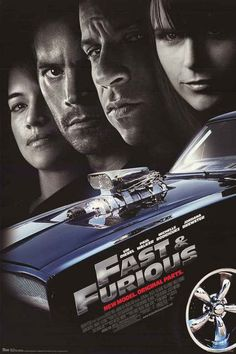 Fast and Furious 4 Cast New Model 2008 Movie Poster 22x34